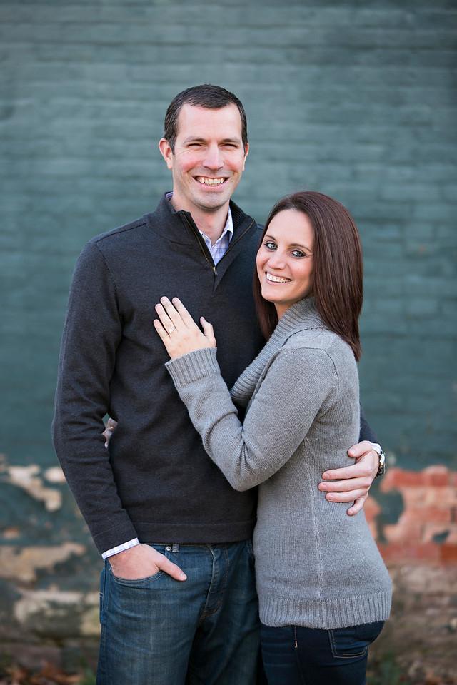 Melanie and Rob Engagement